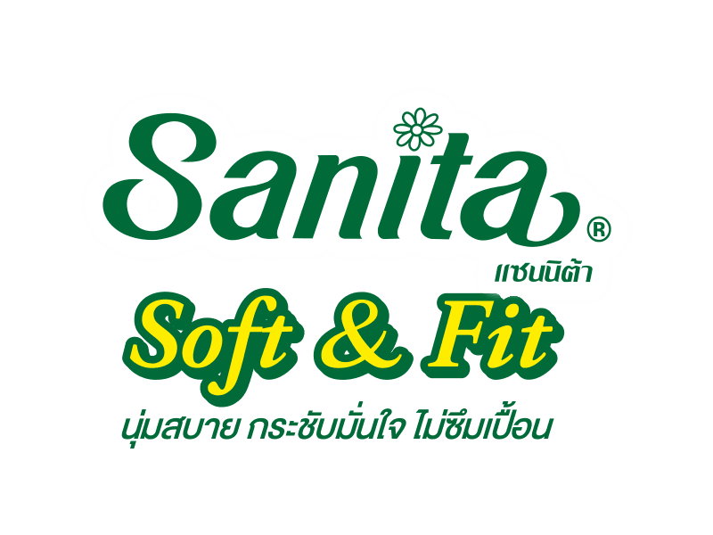sanita แซนนิต้า sanitary pads ผ้าอนามัย day Soft&Fit Maxi 24.5cm