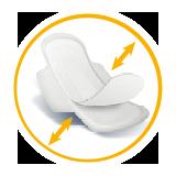 sanita แซนนิต้า sanitary pads ผ้าอนามัย ic double rebound