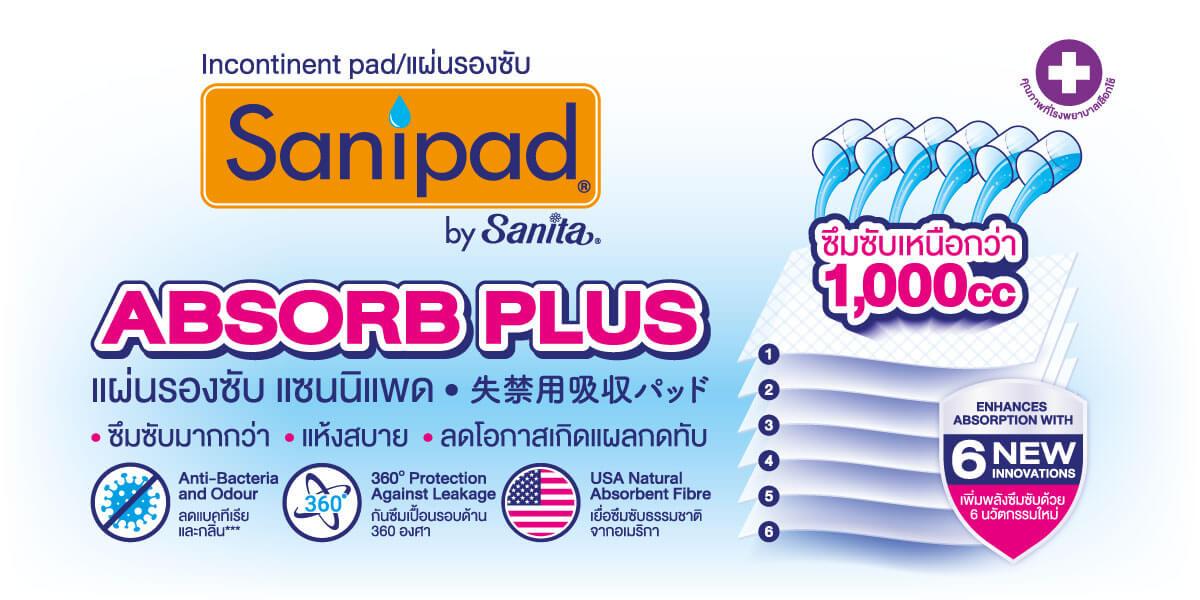 Sanipad Absorb Plus (XL)